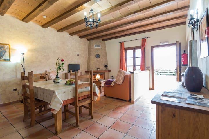 Apartamento Rural Sol de Taberno para 2 personas