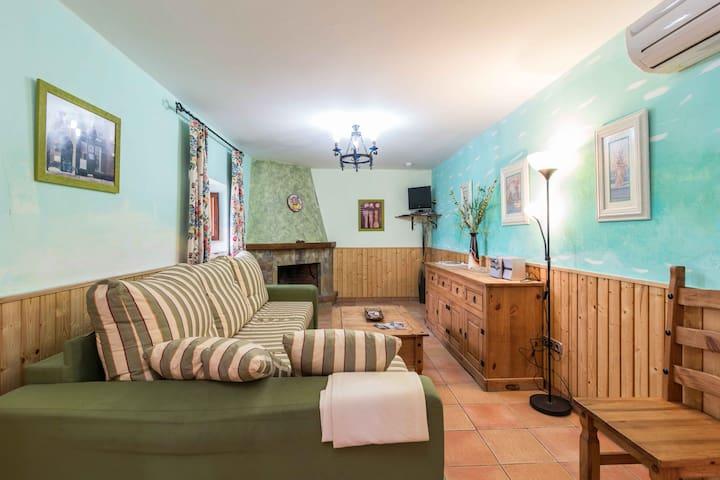 Apartamento Rural Sol de Taberno para 6 personas