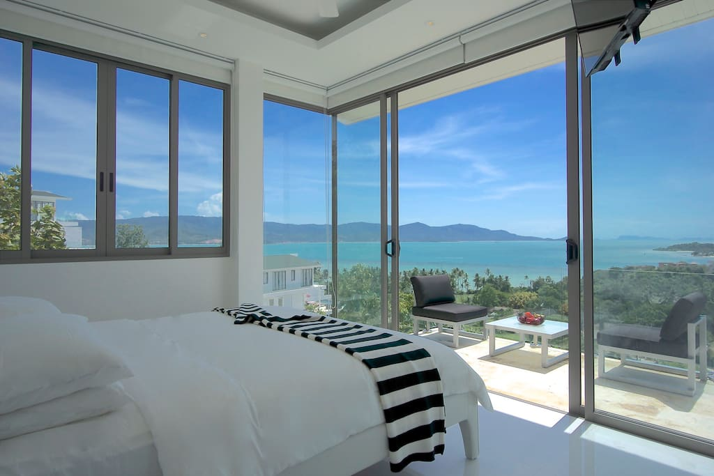 Amazing views from the second bedroom