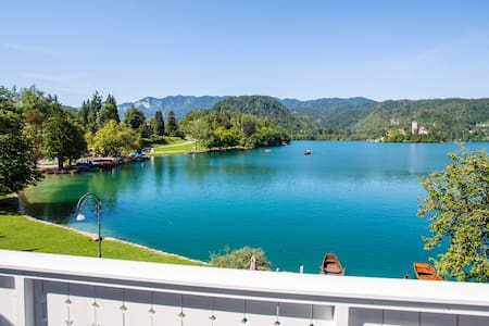 Delux double room with Lake view - Bled