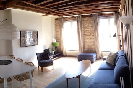 Beautiful Apartment in Le Marais - Paris-4E-Arrondissement - Apartment