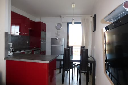 Appartement 2 p. à 50 m de la plage (garage,WIFI) - Villeneuve-Loubet