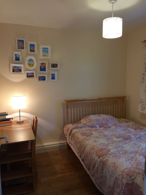lovely small double bed