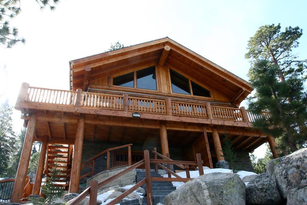 Stairway to heaven big bear lake cabins for rent in for Cabin for rent in big bear ca