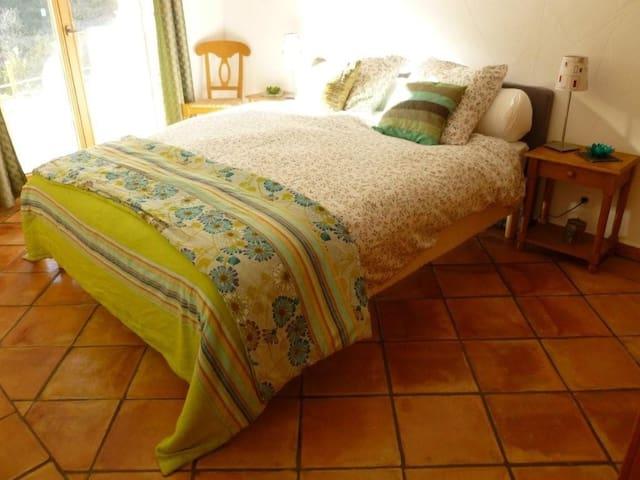 REZ DE JARDIN CHALET Calme/Verdure - Saint-Martin-Vésubie - Wohnung