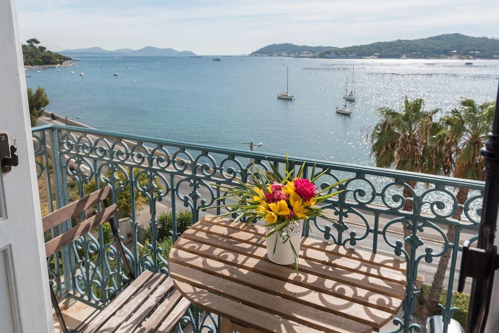 Studio de charme vue mer 180 appartements louer - Chambre d hote la seyne sur mer ...