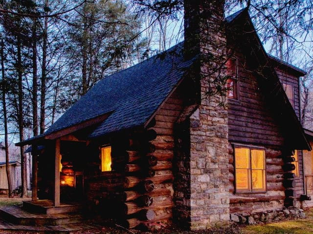 Log Cabin between Boone & Banner Elk - Banner Elk - บ้าน