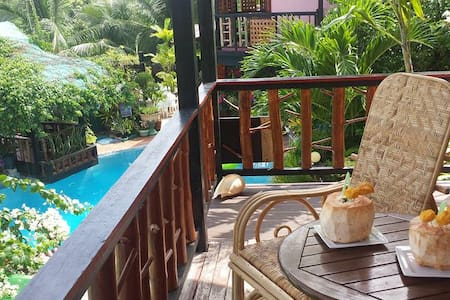Islandview Holiday Villas Panglao, Garden view - Panglao - Huvila