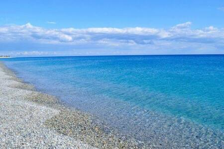 Vacances de détente près de la mer bleue - San Carlo-Condofuri Marina