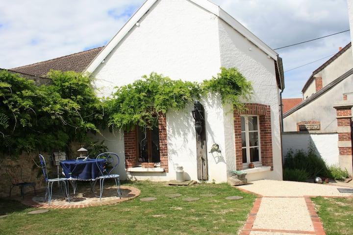 Gite cosy pour 4 dans village viticole