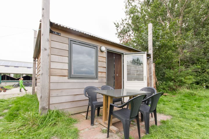 Luxe kamperen op een boerderij - Schellinkhout - Chalet