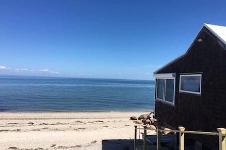1BR Beach house walk to Vineyards 5 min Hamptons - Calverton - Casa