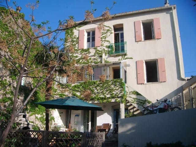 Bord de mer jardin,proche collioure - Port-Vendres - Apartment
