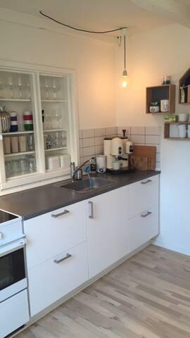 Stor og lys 2-værelses lejlighed - Aarhus - Lägenhet