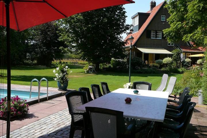 Beautiful old villa near Nieuw Haamstede, Zeeland
