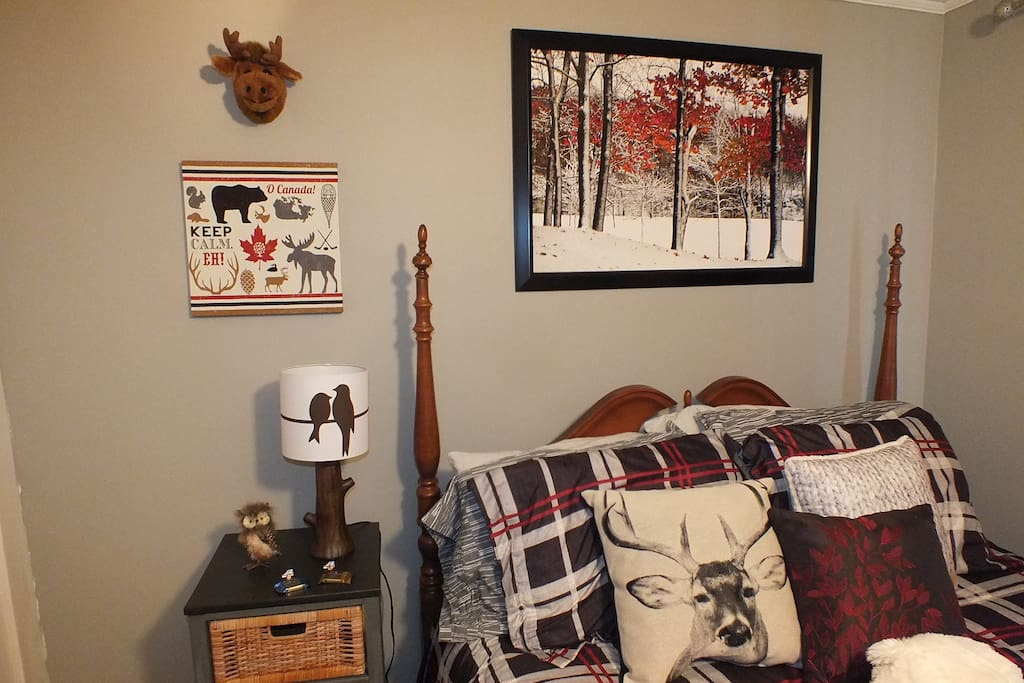 Moose, caribou, crows, bears...you never know what you will find. Plenty of art depicting Canadian themes