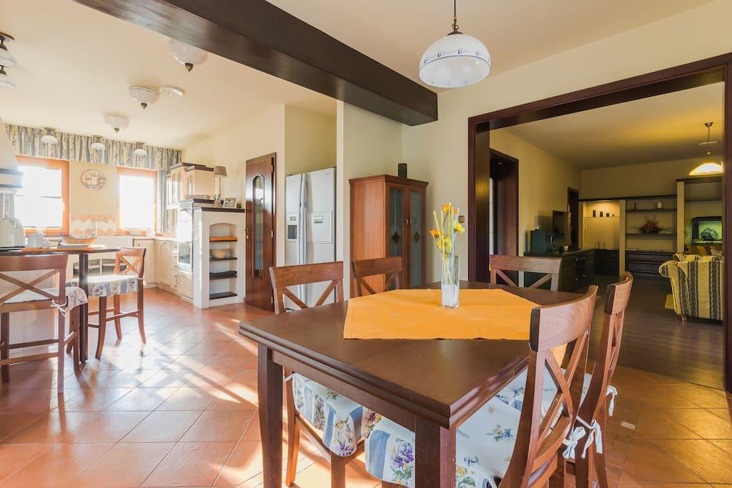 Konyha-étkező-nappali
