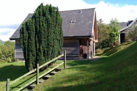 2 bedroom lodge on Loch Awe - Portsonachan - Cabaña