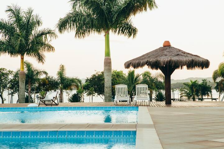 Apto estilo resort/beira da lagoa - Florianópolis - Appartement