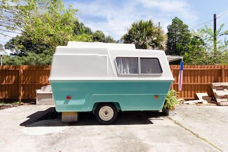 International House-Tiny Camper