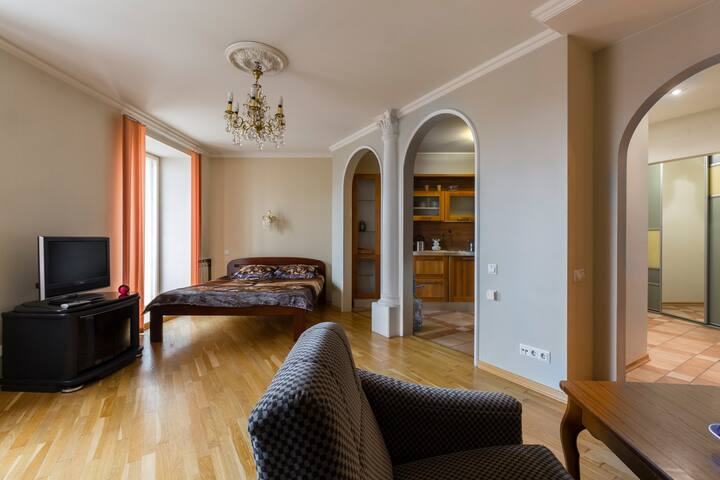 Уютная комфортная квартира - Sankt-Peterburg