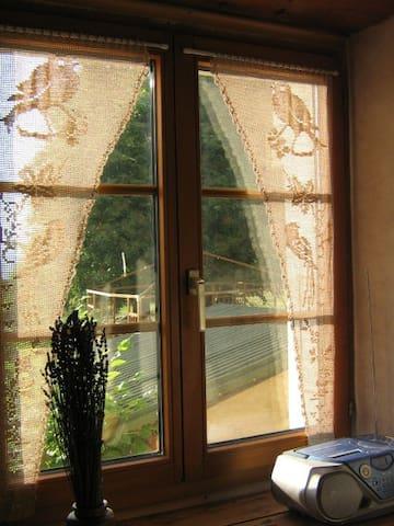 LA CLE DU LOGIS, chambre d'hôtes avec cuisinette - 1356 La Russille - Bed & Breakfast