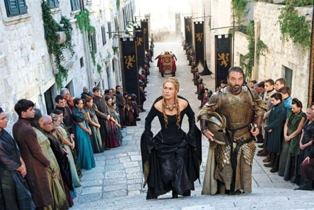 One of the scenes of  Game of Thrones filmed in the Jewish Quarter in Girona