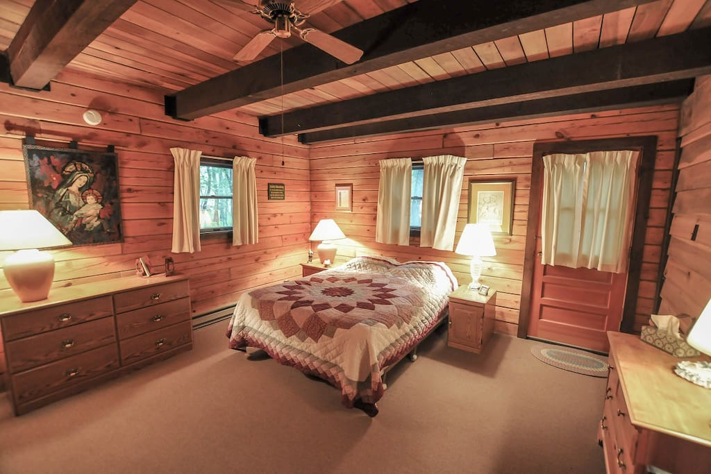 Master Bedroom offers a King and Full beds along with private bathroom