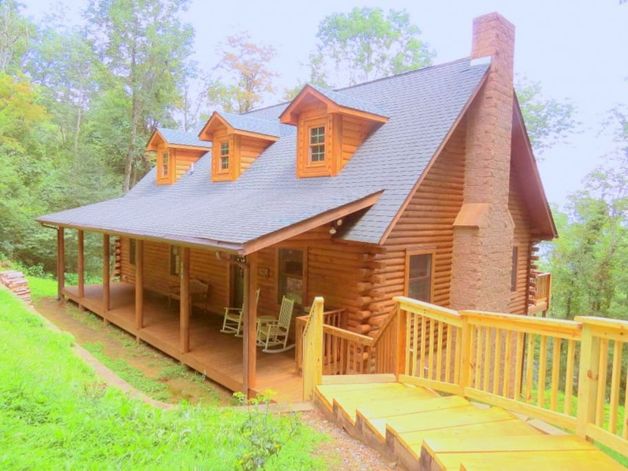 Alpine Log Cabin Boone Nc Cabins For Rent In Boone