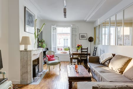 Beautiful flat near the Flea Market - Saint-Ouen - Appartement