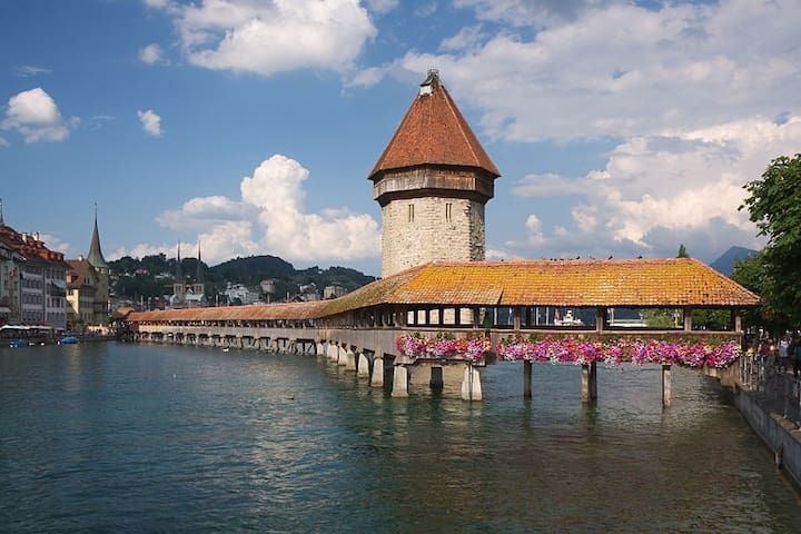 The Penthouse ***** luxury apartment in Lucerne - Lucerne