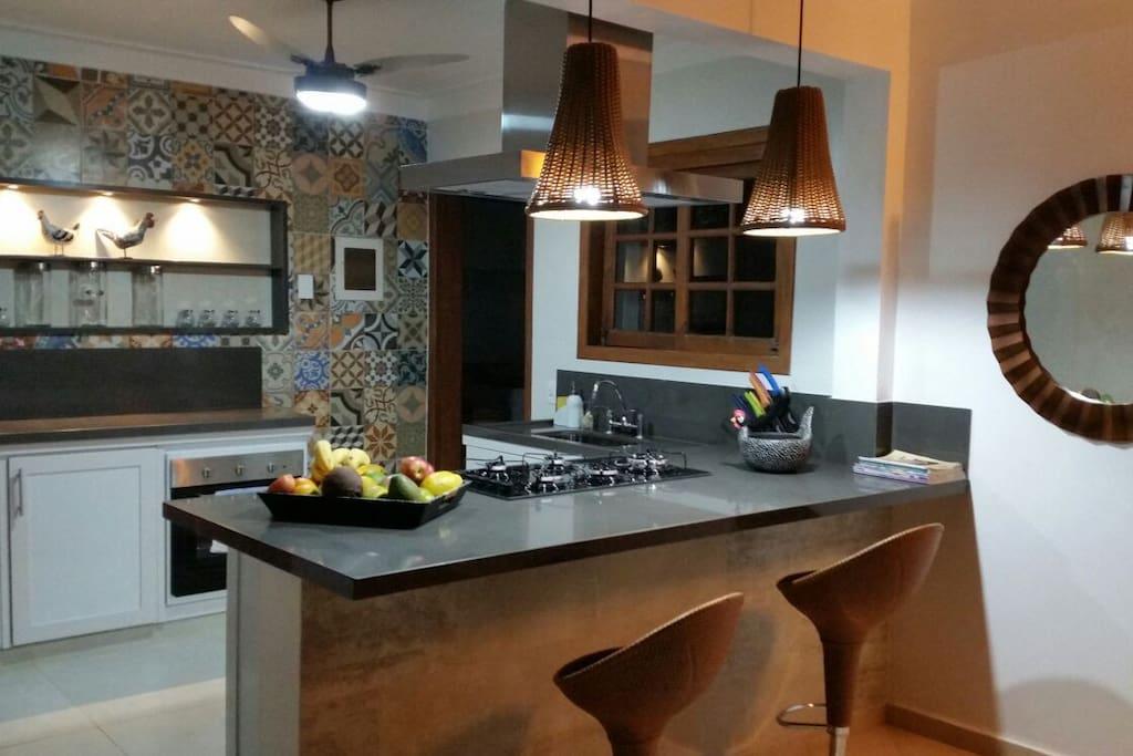 The fabulous new kitchen