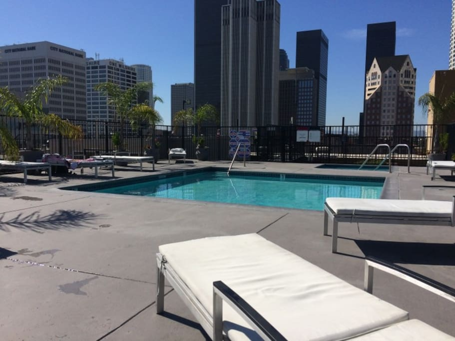 Downtown LA Loft Pool Subway Apartments For Rent In Los Angeles Cali