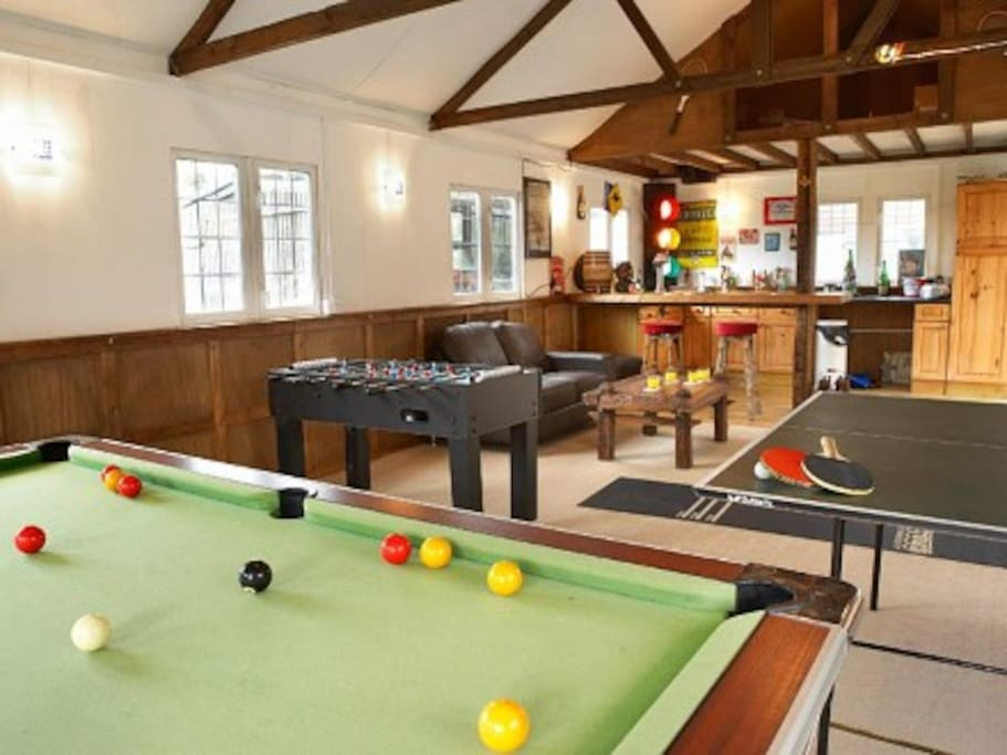 Own private games room