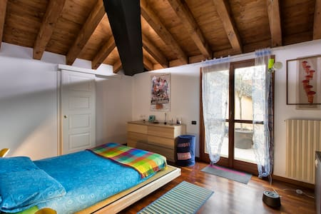 Sunny attic near Milano - Corbetta - Apartmen