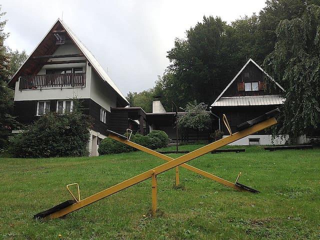 TwinCottage in a Jurkovic LoveLand - Dolní Bečva - Hut