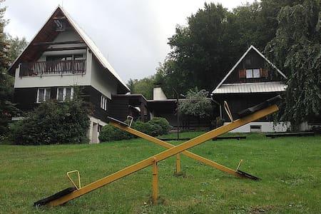 TwinCottage in a Jurkovic LoveLand - Dolní Bečva - Skjul