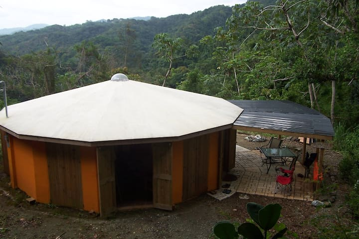 Unique Round House in the Mountains of SW PR - Maricao - Dům