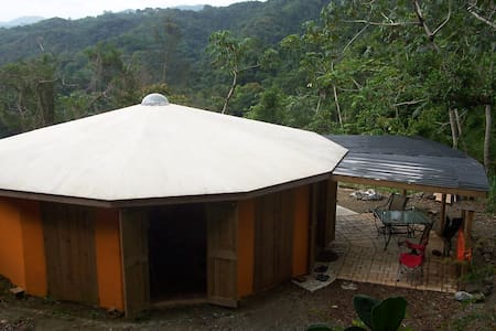 A Solar Powered Round House in the Mountains of PR