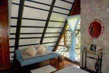Sofá de cuarto principal