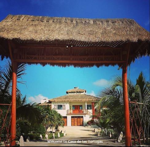 Casa de las Tortugas - Sisal - Hus