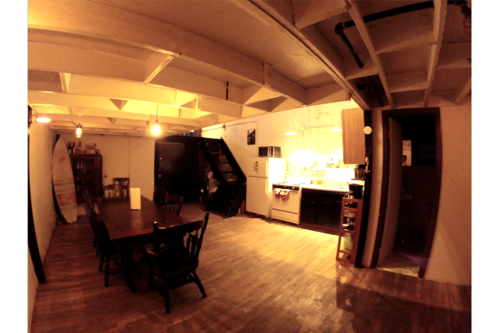 1st floor kitchen and dining room