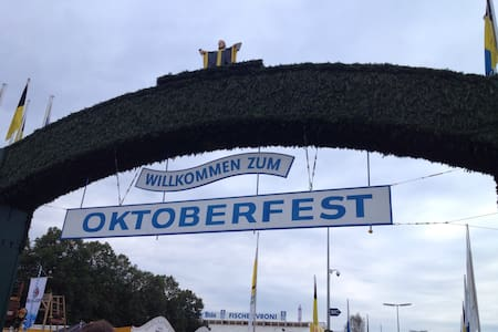 Big Cozy room close to Oktoberfest