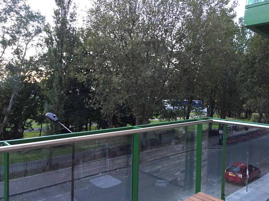 Park View from the balcony