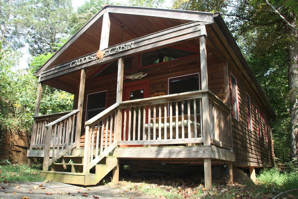 caddis cabin on the south holston cabins for rent in