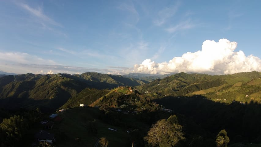 Rooms in Country House - Manizales - Dom