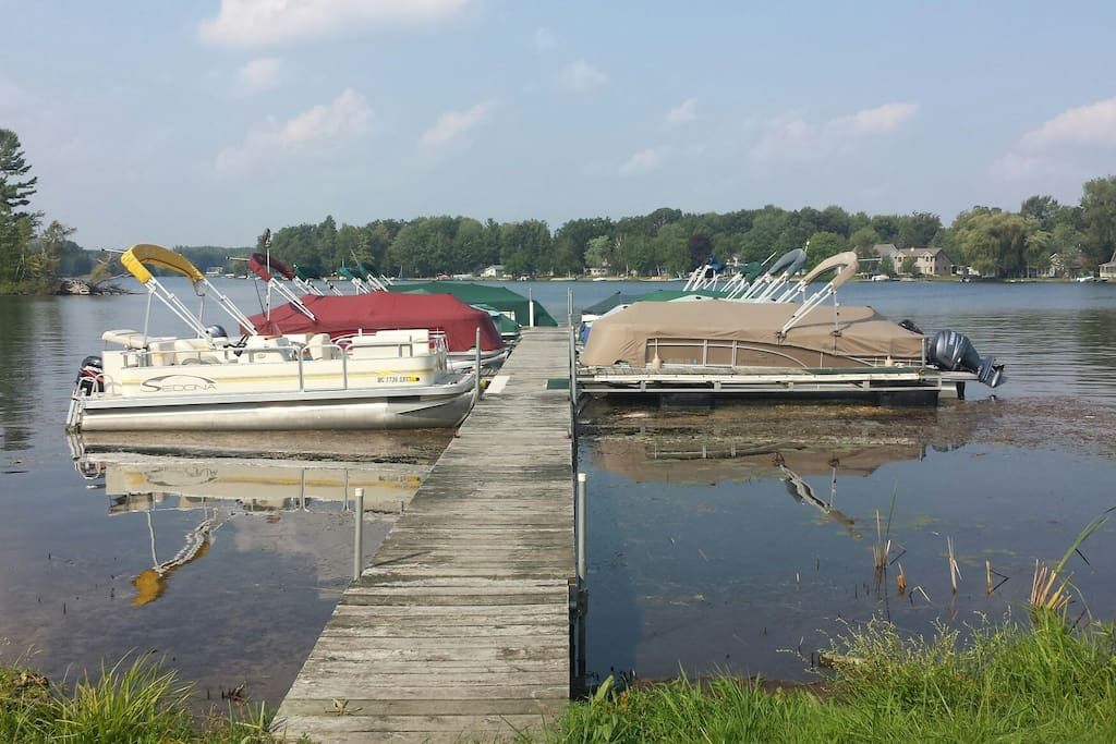 Boat rentals available /