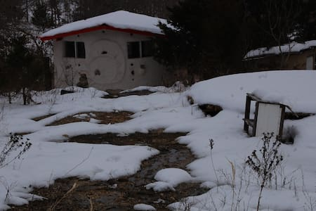 Rustic HandBuilt Cabin on Homestead - Mountain Grove