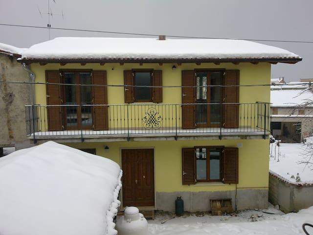 Casa indipendente- Santa Vittoria di Montereale - Montereale - Huis