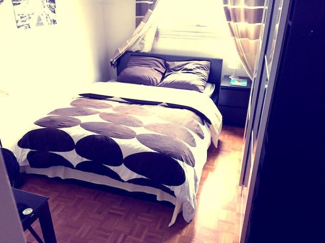 Chambre confortable et cosy - Courbevoie - Appartement